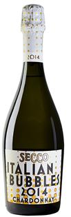 Secco Italian Bubbles Chardonnay Brut 2014 750ml - Case of...